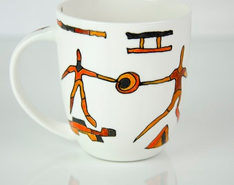Good-tempered mug, Bestprice, coffee mug, teacup, deco mug, porcelain cup, porcelain mug, gift for you and him