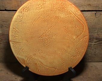 Handmade Embossed Plate