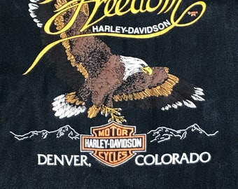 1984 Harley Davidson Freedom T-shirt- Sz L