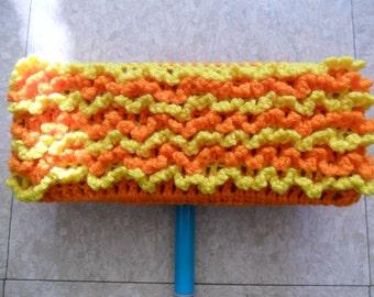 Orange Swiffer Cloth - Orange Floor Dusting Cloth - Yellow Swiffer Cloth - Yellow Floor Dusting Cloth - Washable Swiffer - Resuable Swiffer