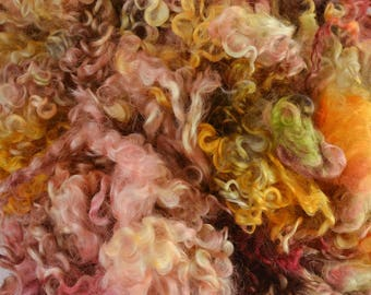 Wensleydale Long Wool Locks for Spinning and Felting Fiber- Colorway Pace