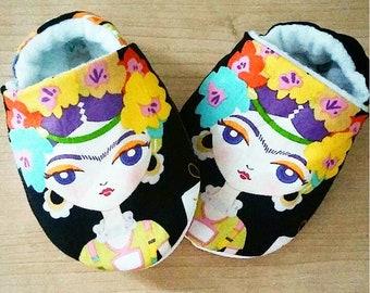 Frida Kahlo Inspired Baby/Kid Shoes