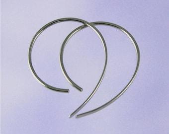 Niobium earrings: Apostrophe