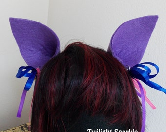My Little Pony Ears, Twilight Sparkle, Rainbow Dash, Pinkie Pie, Apple Jack, Doctor Whooves Cosplay Brony Clips