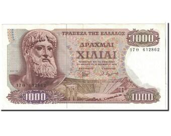 greece 1000 drachmai 1970 1970-11-01 km198a unc(64)