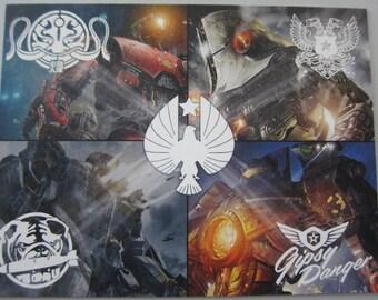 Pacific Rim - Jaegers Postcard