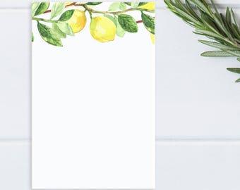 Lemon Notepad