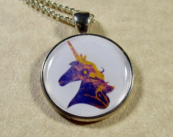 Unicorn Pendant, Unicorn Necklace, Unicorn Jewelry, Unicorn Gift, Jewelry with Unicorn, Kids Jewelry, Kids Pendant, Girls Jewelry