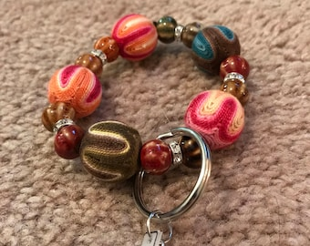 Colorful Keychain Bracelet