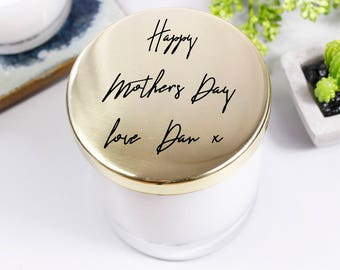 Mother's Day Scented Candle With Lid - Candle For Mum - Mothers Day Candle - Scented Candle With Lid - Mothers Day Gift