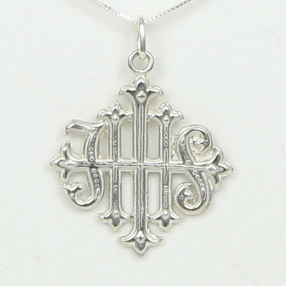 christogram ihs cross ancient christian symbol latin for