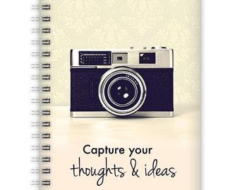 Notebook A6 - Vintage Camera
