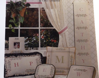Rosebuds cross stitch chart by Chris Middleton