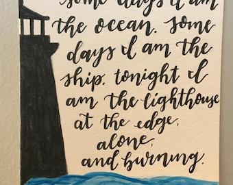 The Lighthouse Miniprint