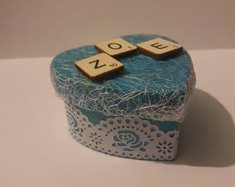 Trinket/Engagement Box - Customisable
