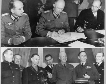 Poster, Many Sizes Available; Surrender Of Germany In Reims, France 7 May 1945