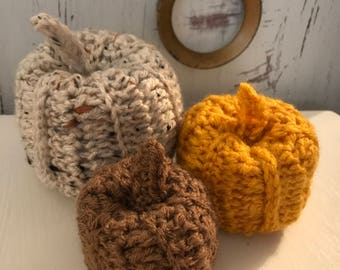 Pumpkins- Set of 3