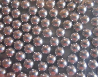 "Agitator Beads for Nail Polish Stainless Steel Balls 3/16"" Approx 5 mm for Mixing Nail Polish Ball Bearings"