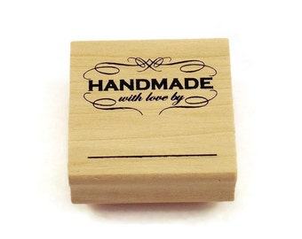 Rubber Stamp - HANDMADE with love by