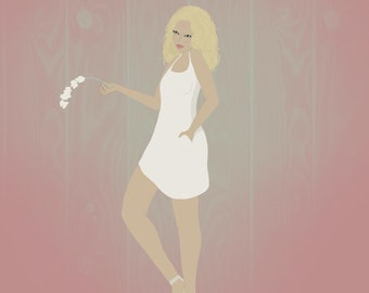 Orchid - Flower Girl Series