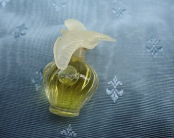 Original Vintage French L'Air du temps by Nina Ricci Miniature Parfume Full 6cl French Classic Fragrance 1980s bottle Womens Fragrance