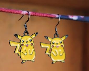 Pikachu Earrings, Pokemon Earrings