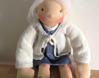 Jule Cardi - a 'dollyknit' (PDF) knitting pattern by luletti