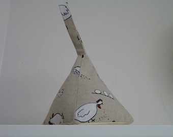 Chicken and Egg Triangle Doorstop