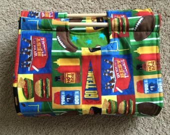 Insulated Casserole Carrier Tailgates, BBQs and Football