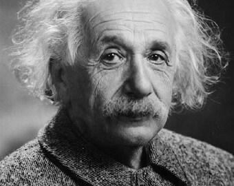Albert Einstein German philospher physics 8x10 photo poster print Wall decor man cave