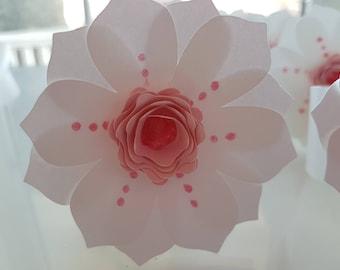 Flower Napkin Rings (set of 8)
