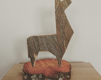 Lama of Wood