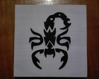 Mini table 3d scorpion