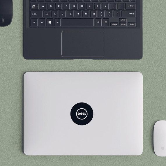 Dell Logo Macbook Decal Laptop Sticker Macbook Pro Air Vinyl