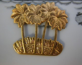 Palm Tree Stampings (2 pc)