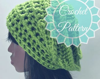 CROCHET PATTERN Chunky Bumpy Cloche Crochet Pattern