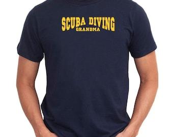 Scuba Diving Grandma T-Shirt