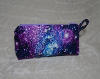Galaxy cosmetic bag