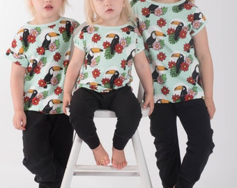 PDF- mönster Easy tee - enkel kortärmad tröja. stl 50-170