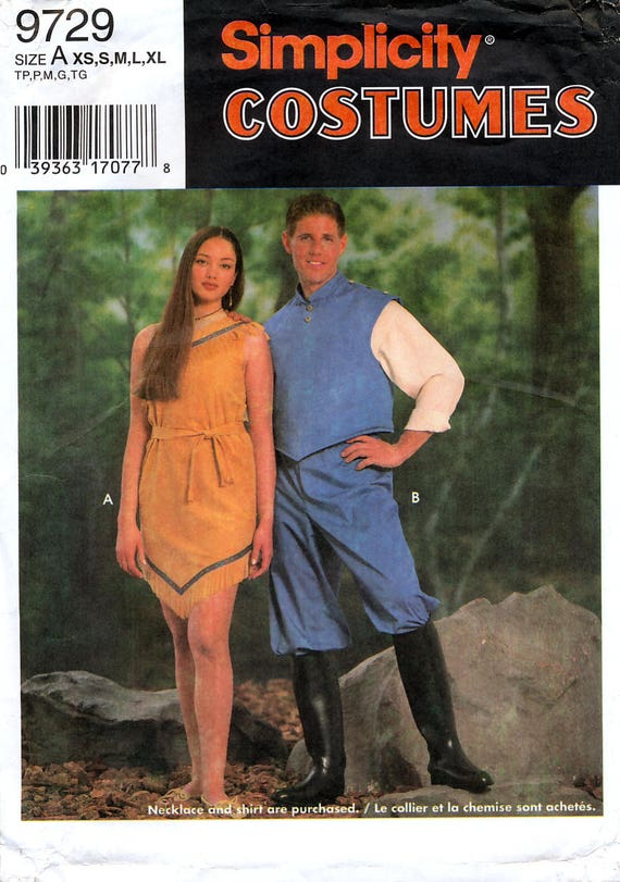 Simplicity 9729 Sewing Pattern for Misses\', Men\'s, Teen-Boys\' and ...