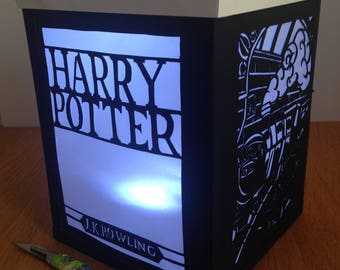 Harry Potter Inspired Papercut Lantern