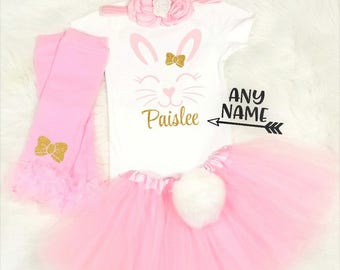 Girls Easter Outfit Baby Girl Easter Outfit My 1st Easter Outfit First Easter Outfit Baby's First Easter Tutu Baby Easter Dress Easter bunny