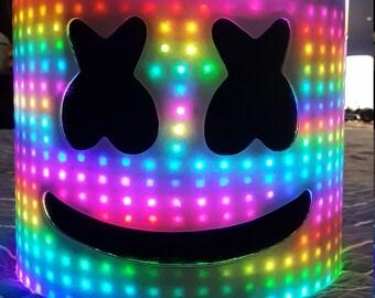 Marshmello Dj Helmet (OVER 1,100 LEDS)