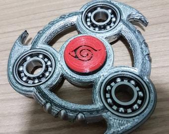 Chrome Sharingan V1 Tri Fidget Spinner
