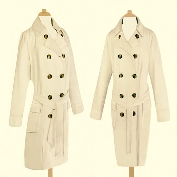 Size Oversize White White Wool Coat Long Coat Coat Plus XL Coat Coat Wedding Womens Bridal Coat Formal Coat Coat Long Coat Vintage HpgTqA