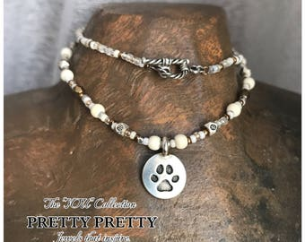 Tiny Paws Necklace