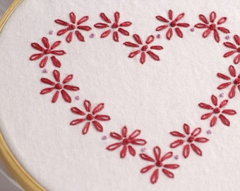 Valentine Embroidery Pattern Valentine embroidery design Be Mine Valentine