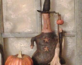 Primitive Halloween Witchy Poo