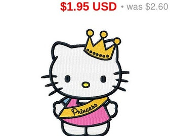 Hello Kitty embroidery design / embroidery designs / INSTANT download machine embroidery pattern