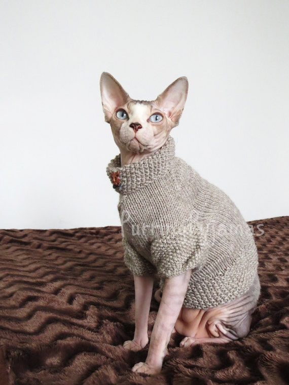 Vêtements de Sphynx, sphynx pull, vêtements de chat, pull chat, pull pour  les sphynx, pour chat, vêtements de chat sphynx, cadeau d\u0027amant de chat,  sphynx